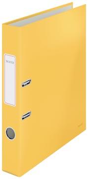 Leitz Cosy ordner met soft touch oppervlak, rug van 5 cm, geel