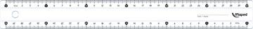 Maped lat Essentials 146 30 cm eco - dubbele graduatie
