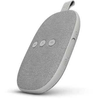 Fresh n' Rebel Rockbox Bold X, draadloze Bluetooth speaker, Ice Gray