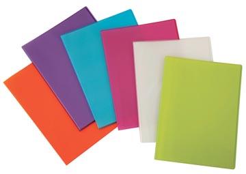Beautone showalbum, A4, 20 tassen, in geassorteerde kleuren