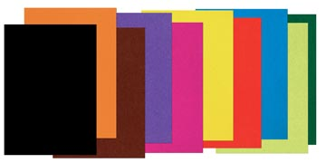 Gekleurd tekenpapier ft 25 x 35 cm