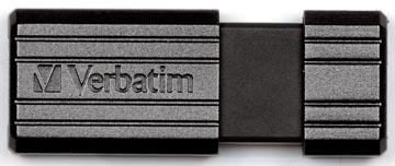 Verbatim PinStripe USB 2.0 stick, 8 GB, zwart