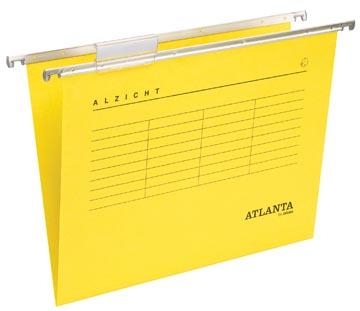 Atlanta hangmappen Alzicht Spectrum ft A4, V-bodem, geel