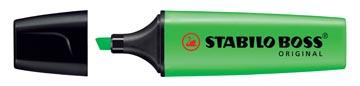 STABILO BOSS ORIGINAL markeerstift, groen