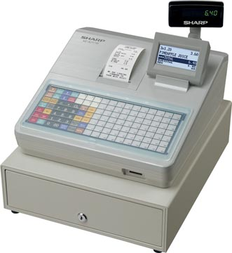 Sharp thermische kasregister XE-A217W, wit