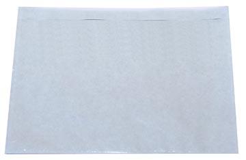 Zelfklevend documentenmapje ft A6, blanco, doos van 1000 stuks
