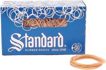 Standard elastieken 1,5 x 100 mm, doos van 500 g