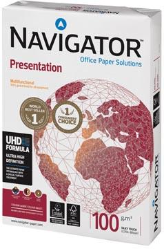 Navigator Presentation presentatiepapier ft A4, 100 g, pak van 500 vel