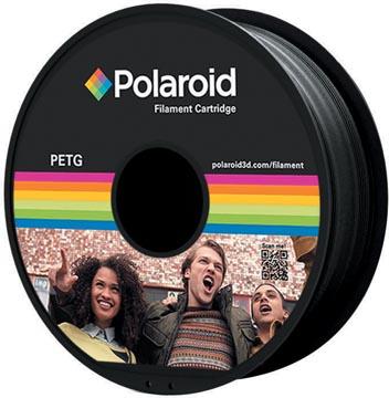 Polaroid 3D Universal PETG Filament, 1 kg, zwart