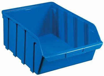 Viso magazijnbak 28 liter, blauw