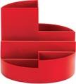 Maul Bureaustandaard Roundbox, rood